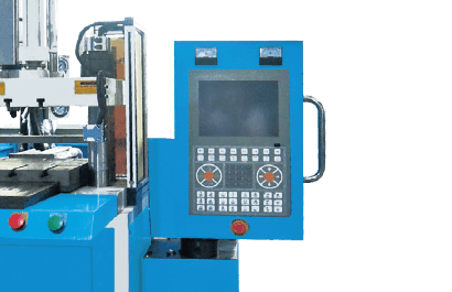 Vertical Plastic and Injection Molding Machine